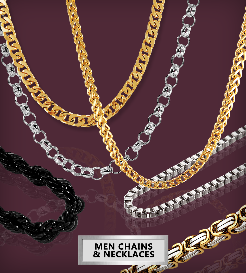 Men Chain & nacklaces